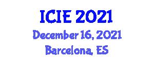International Conference on Image Encryption (ICIE) December 16, 2021 - Barcelona, Spain