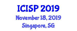 International Conference on Imaging and Signal Processing (ICISP) November 18, 2019 - Singapore, Singapore