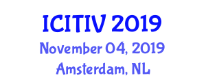 International Conference on Immunological Techniques, Immunotoxicology and Vaccines (ICITIV) November 04, 2019 - Amsterdam, Netherlands