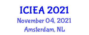 International Conference on Impact Engineering and Applications (ICIEA) November 04, 2021 - Amsterdam, Netherlands