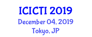 International Conference on Industrial Cybersecurity and Threat Intelligence (ICICTI) December 04, 2019 - Tokyo, Japan