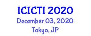 International Conference on Industrial Cybersecurity and Threat Intelligence (ICICTI) December 03, 2020 - Tokyo, Japan