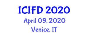 International Conference on Industrial Food Design (ICIFD) April 09, 2020 - Venice, Italy