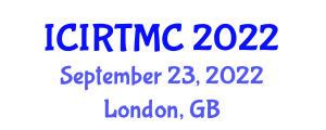 International Conference on Industrial Robotic Technologies and Mechanical Control (ICIRTMC) September 23, 2022 - London, United Kingdom