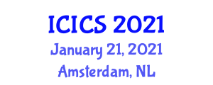 International Conference on Information and Computer Security (ICICS) January 21, 2021 - Amsterdam, Netherlands