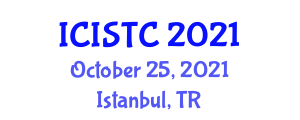 International Conference on Information Security Theory and Cryptology (ICISTC) October 25, 2021 - Istanbul, Turkey