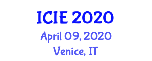 International Conference on Innovation and Entrepreneurship (ICIE) April 09, 2020 - Venice, Italy