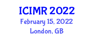 International Conference on Innovations in Mechatronics and Robotics (ICIMR) February 15, 2022 - London, United Kingdom