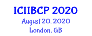 International Conference on Innovative Individual Buildings and Construction Processes (ICIIBCP) August 20, 2020 - London, United Kingdom