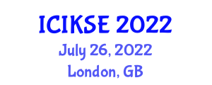 International Conference on Innovative Knowledge Security and Encryption (ICIKSE) July 26, 2022 - London, United Kingdom