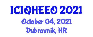 International Conference on Integer Quantum Hall Effect and Energy Quantization (ICIQHEEO) October 04, 2021 - Dubrovnik, Croatia