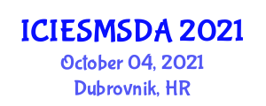 International Conference on Integrated Energy System Modeling, Simulation, Design and Analysis (ICIESMSDA) October 04, 2021 - Dubrovnik, Croatia