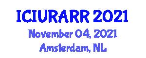 International Conference on Integrated Urban Risk Assessment and Risk Reduction (ICIURARR) November 04, 2021 - Amsterdam, Netherlands