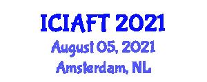 International Conference on Intensive Animal Farming Technologies (ICIAFT) August 05, 2021 - Amsterdam, Netherlands