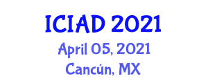 International Conference on Internet Addiction and Depression (ICIAD) April 05, 2021 - Cancún, Mexico