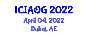 International Conference on Internet Addiction and Online Gaming (ICIAOG) April 04, 2022 - Dubai, United Arab Emirates