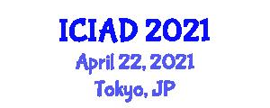 International Conference on Internet Addiction Disorder (ICIAD) April 22, 2021 - Tokyo, Japan