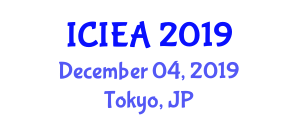 International Conference on Internet Engineering and Applications (ICIEA) December 04, 2019 - Tokyo, Japan