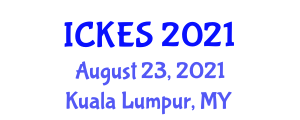 International Conference on Kinesiology and Exercise Sciences (ICKES) August 23, 2021 - Kuala Lumpur, Malaysia