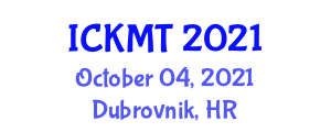 International Conference on Knowledge Management and Information Technologies (ICKMT) October 04, 2021 - Dubrovnik, Croatia