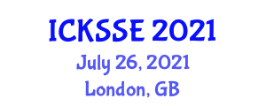 International Conference on Knowledge Security, Storage and Encryption (ICKSSE) July 26, 2021 - London, United Kingdom