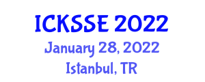 International Conference on Knowledge Security, Storage and Encryption (ICKSSE) January 28, 2022 - Istanbul, Turkey