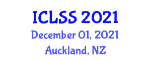International Conference on Land Squandering and Suburbanization (ICLSS) December 01, 2021 - Auckland, New Zealand