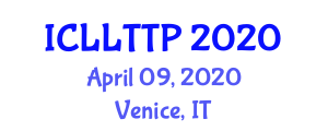 International Conference on Landfill Leachate Treatment Technologies and Processes (ICLLTTP) April 09, 2020 - Venice, Italy