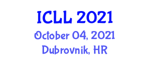 International Conference on Language and Lateralization (ICLL) October 04, 2021 - Dubrovnik, Croatia