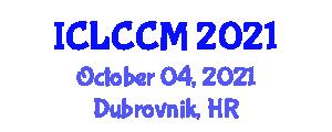 International Conference on Language Cognition and Connectionist Models (ICLCCM) October 04, 2021 - Dubrovnik, Croatia