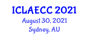 International Conference on Large Animal Emergency and Critical Care (ICLAECC) August 30, 2021 - Sydney, Australia