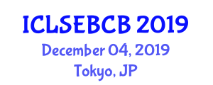 International Conference on Large-Scale Ecology, Biodiversity and Conservation Biology (ICLSEBCB) December 04, 2019 - Tokyo, Japan