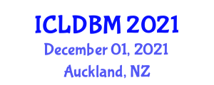International Conference on Lasers in Dentistry and Bone Management (ICLDBM) December 01, 2021 - Auckland, New Zealand