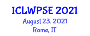 International Conference on Left-Wing Politics and Social Equality (ICLWPSE) August 23, 2021 - Rome, Italy