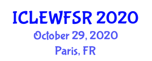International Conference on Lifetime Extension of Wind Farms, Safety and Risks (ICLEWFSR) October 29, 2020 - Paris, France