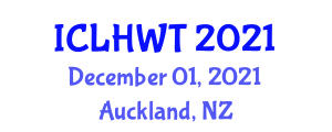 International Conference on Livestock Health, Welfare and Treatment (ICLHWT) December 01, 2021 - Auckland, New Zealand
