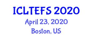 International Conference on Long Term and Emergency Food Storage (ICLTEFS) April 23, 2020 - Boston, United States
