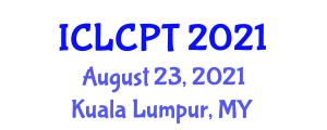 International Conference on Low Carbon Power Technologies (ICLCPT) August 23, 2021 - Kuala Lumpur, Malaysia