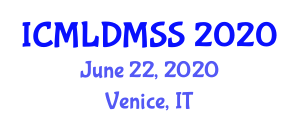 International Conference on Machine Learning and Data Mining in Sports Science (ICMLDMSS) June 22, 2020 - Venice, Italy