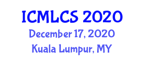 International Conference on Machine Learning for Computer Security (ICMLCS) December 17, 2020 - Kuala Lumpur, Malaysia