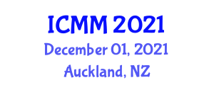 International Conference on Magnetism and Metallurgy (ICMM) December 01, 2021 - Auckland, New Zealand