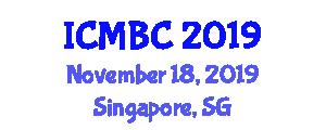 International Conference on Marine Biodiversity and Conservation (ICMBC) November 18, 2019 - Singapore, Singapore