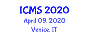 International Conference on Maritime Science (ICMS) April 09, 2020 - Venice, Italy