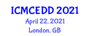 International Conference on Masonry Construction and Energy Dissipation Devices (ICMCEDD) April 22, 2021 - London, United Kingdom