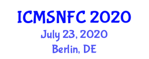 International Conference on Materials Selection for Natural Fiber Composites (ICMSNFC) July 23, 2020 - Berlin, Germany