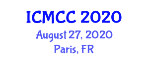 International Conference on Mathematical and Computational Chemistry (ICMCC) August 27, 2020 - Paris, France