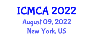 International Conference on Mathematical Cryptology and Applications (ICMCA) August 09, 2022 - New York, United States