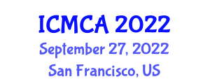 International Conference on Mathematical Cryptology and Applications (ICMCA) September 27, 2022 - San Francisco, United States