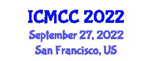 International Conference on Mathematical Cryptology and Cryptanalysis (ICMCC) September 27, 2022 - San Francisco, United States
