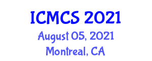 International Conference on Mathematical Cryptology and Security (ICMCS) August 05, 2021 - Montreal, Canada